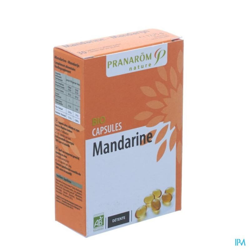 MANDARINE BIO BLISTER CAPS 2X15 PRANAROM