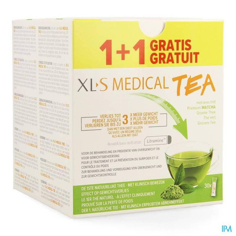 XLS MED. TEA ZAKJE 30 1+1 GRATIS PROMO