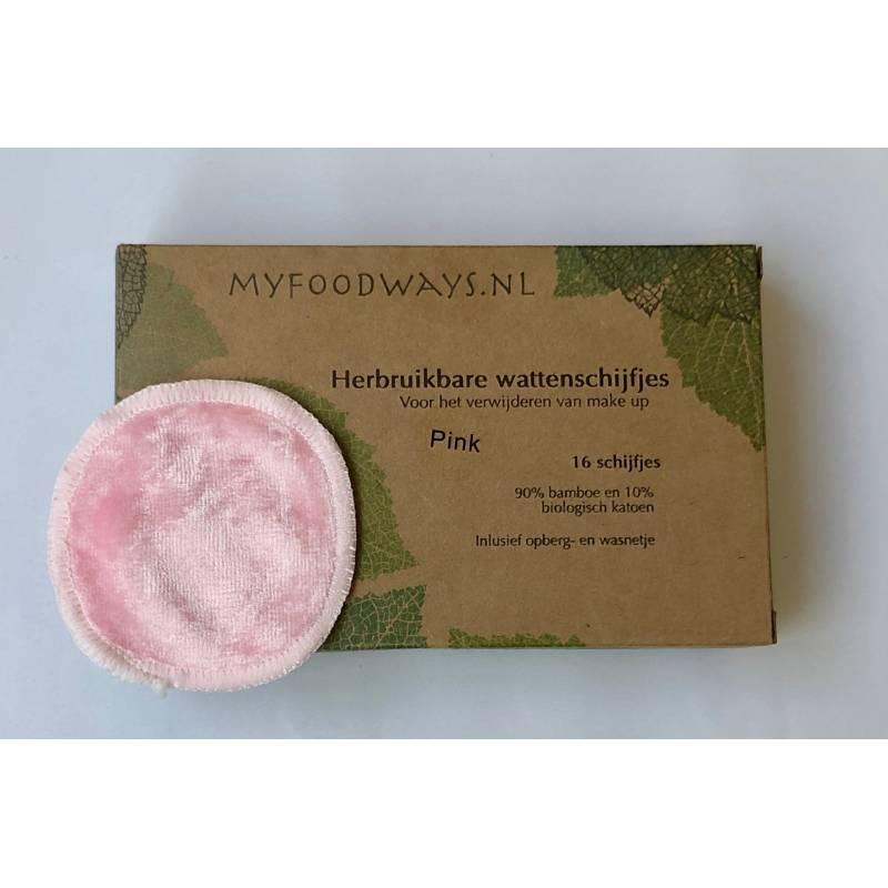 MFW Ecologische Wattenschijfjes Roze 16