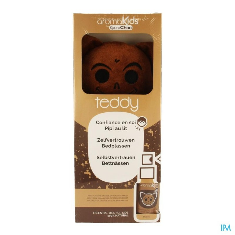 Aromakids Kit Teddy Spray 30ml + Knuffel