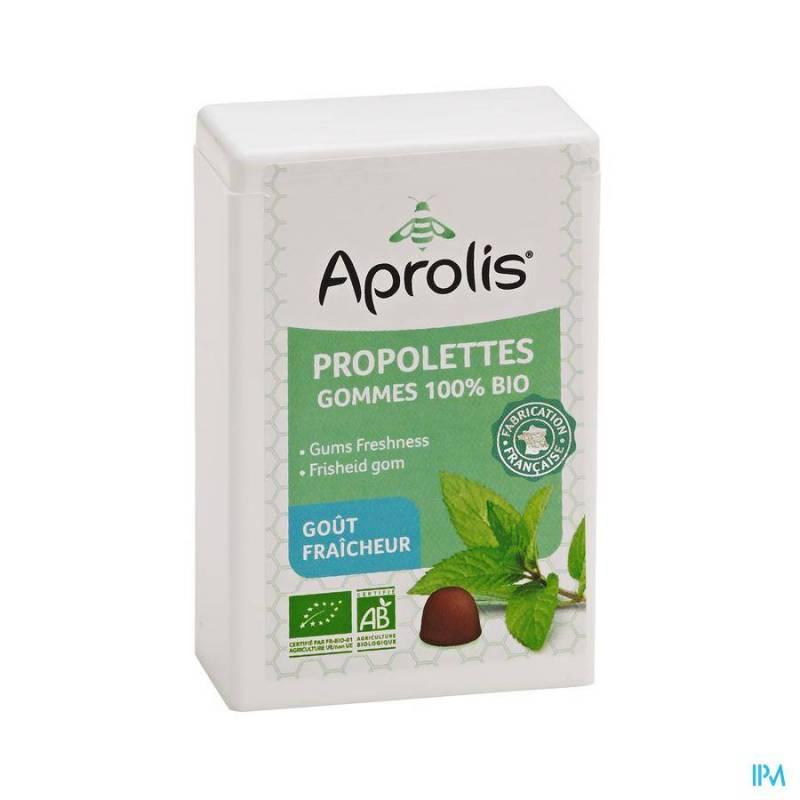 APROLIS PROPOLETTES FRAICHEUR BIO GOMME 50G