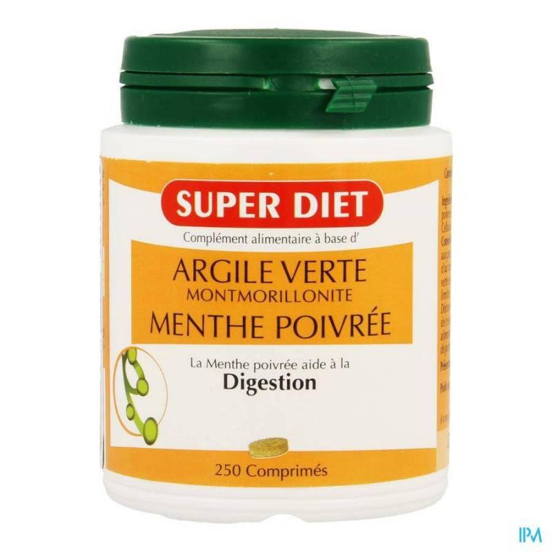 SUPER DIET ARGILE VERTE COMP 250