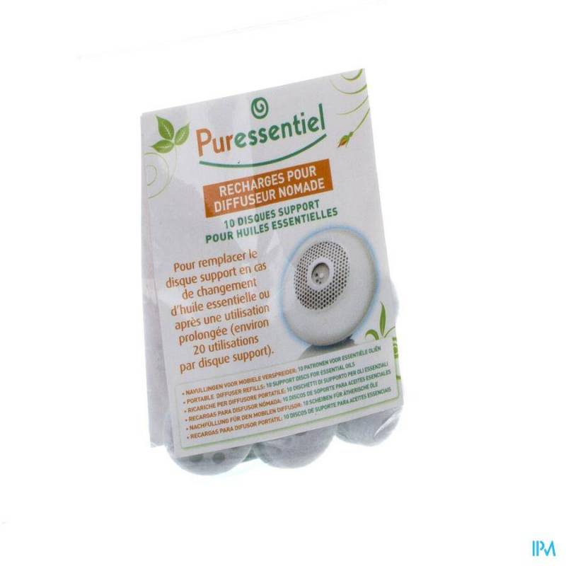 PURESSENTIEL DIFFUSEUR RECHARGES NOMADE 10