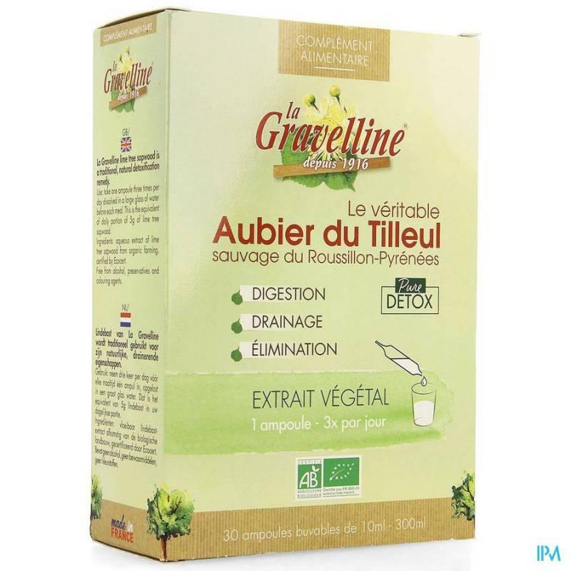 AUBIER DE TILLEUL LA GRAVELINE BE LIFE AMP 30X10ML