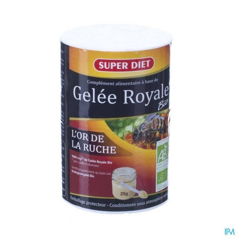 SUPER DIET GELEE ROYALE BIO POT 25G