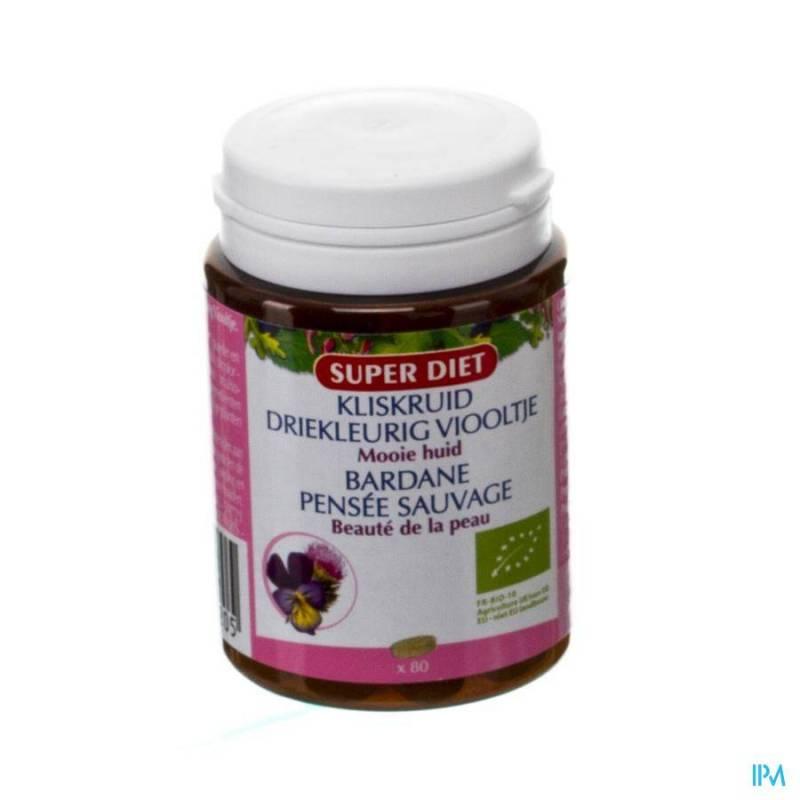 SUPER DIET KLISKRUID-3KLEUR.VIOOL. BIO COMP 80