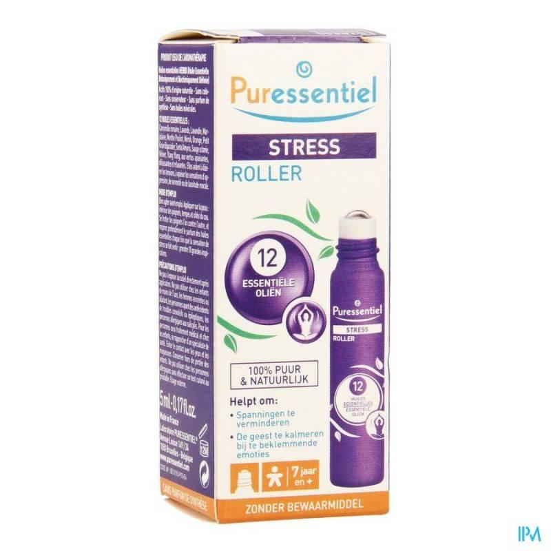 PURESSENTIEL ROLLER STRESS 12 HLE ESS 5ML