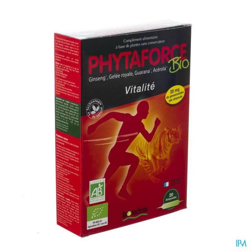 PHYTAFORCE AMP 20X10ML BIOTECHNIE