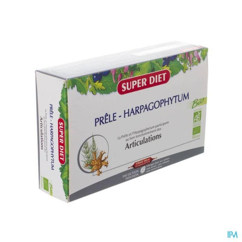 SUPER DIET PRELE HARPAGOPHYTUM AMP 20