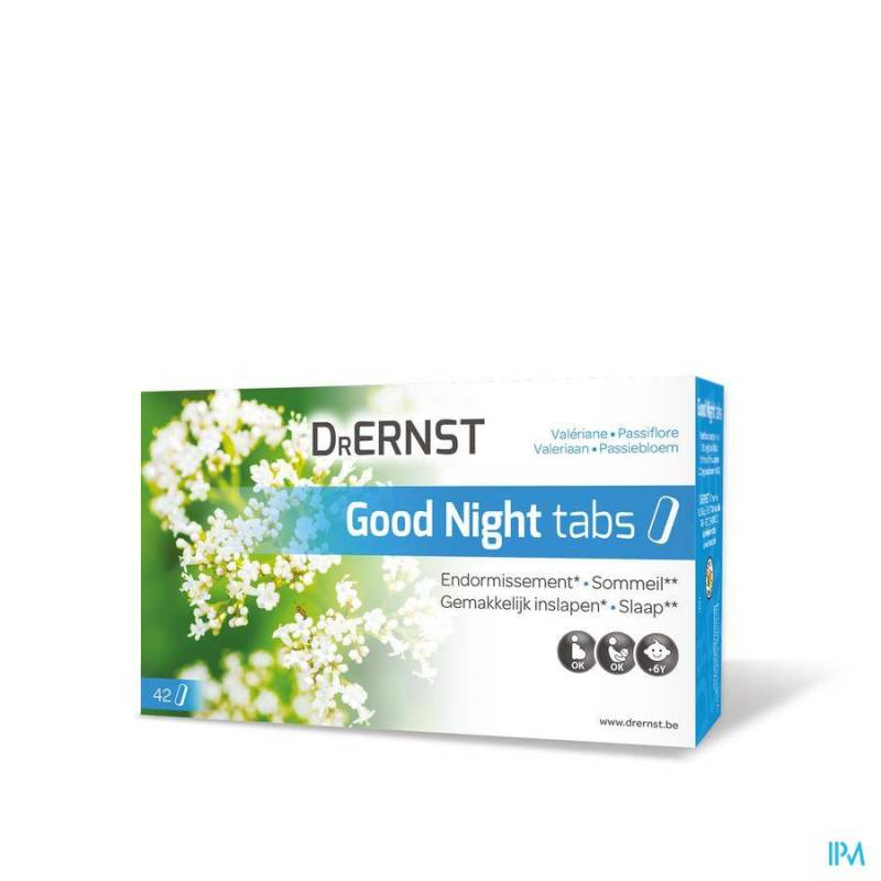 DR ERNST GOOD NIGHT TABS COMP 42 REMPL.3052081