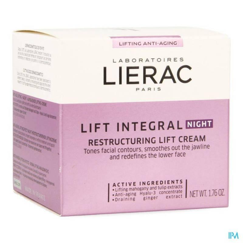 Lierac Lift Integral Creme Affinant Nuit Pot 50ml