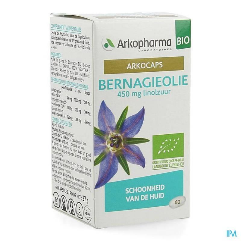 ARKOCAPS BERNAGIEOLIE BIO CAPS 60