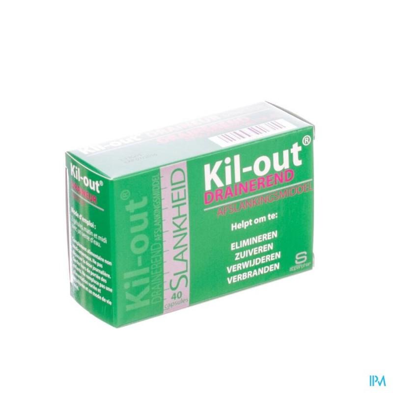 KIL OUT DRAINEUR MINCEUR CAPS 40