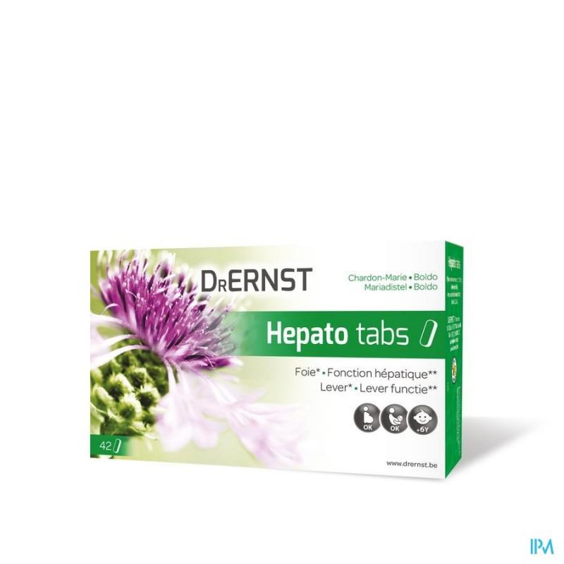 DR ERNST HEPATOTABS COMP 42